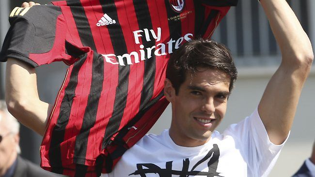 Kaka returns 'home' to Milan | Brazil midfielder Kaka, Kaka returns AC milan