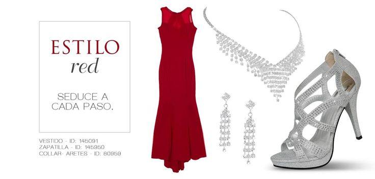 De alfombra roja #ILOVEPS #PriceShoes #RedDress #elegancia #shoes #plata #fashion #stylish #glam   De venta en → http://tiendaenlinea.priceshoes.com/