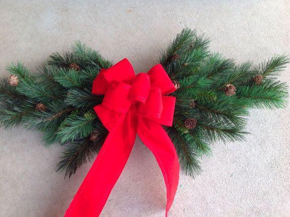 Ventana botín botín de Navidad decoración de la Navidad