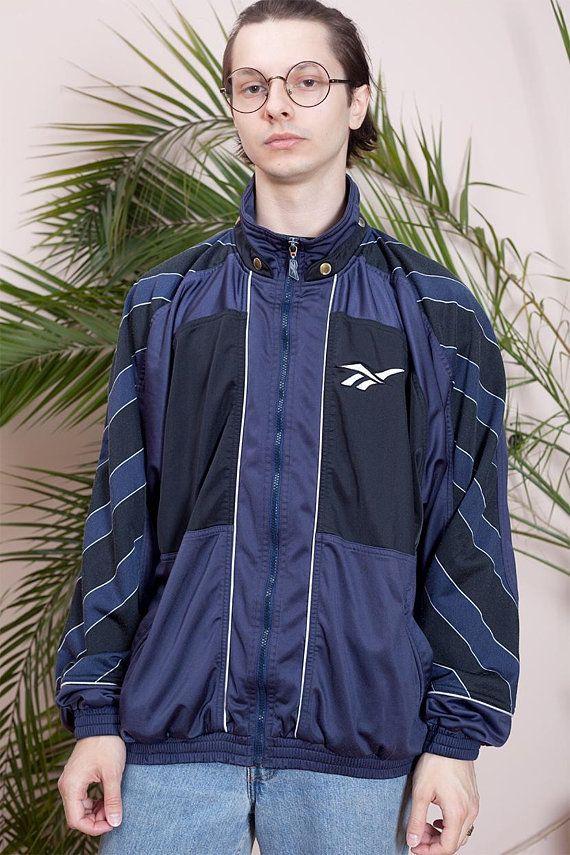 Vintage Reebok sportswear•Vintage Hipster jacket•90s