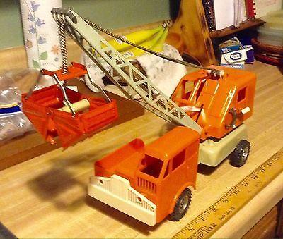 Gama German Made Industrial Steel Bucket Clam Shell Crane Truck Toy 18.5'' Long  | eBay