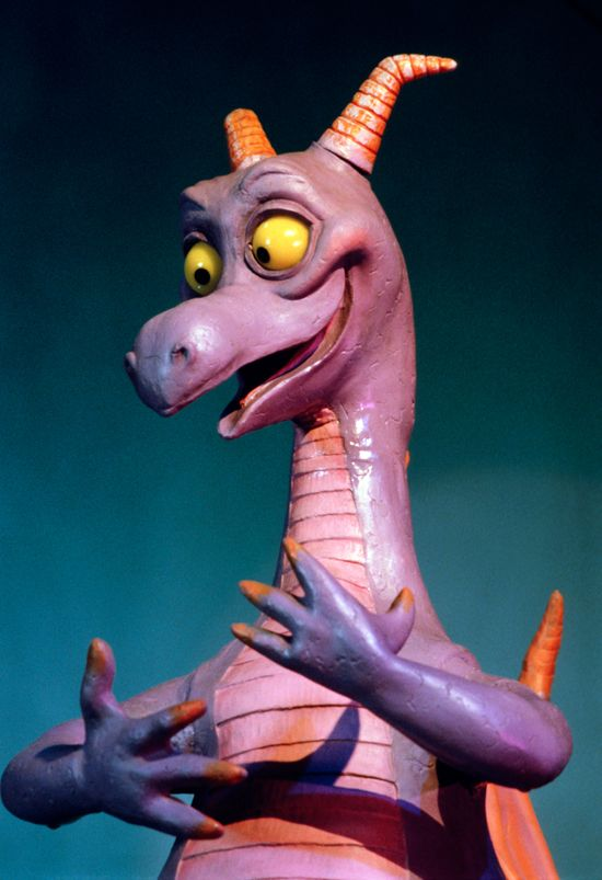 OMG it's FIGMENT!! Epcot's Imaginative Disney Dragon - Sharon I'm pinning this one for you! Hopefully you see it!!!