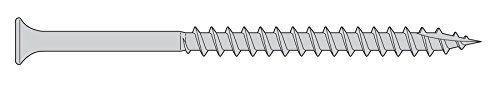 Cheap 10 x 3 Deck Screws - 1500 Pieces - Bugle Head Star Drive 316 Stainless Steel (Marine Grade)  Type 17 Auger Point -BUlk Box on sale 2017