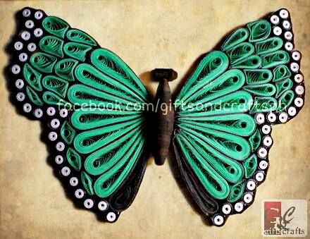 There you go.  First out of four butterfly. Reserved but can be made to order. #butterfly #papercraft #handmade #giftsandcraftsph #green #gcphbutterflyproject #gcphbutterflywings #ilovegcph For order and queries Sms/call 09235861899 or msg us on facebook.com/giftsandcraftsph Follow us on twitter @GiftsCraftsPH and IG @giftsandcraftsph