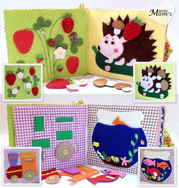 Ruhige Kinderbuch beschäftigt Buch Eco-Friendly von MiniMoms
