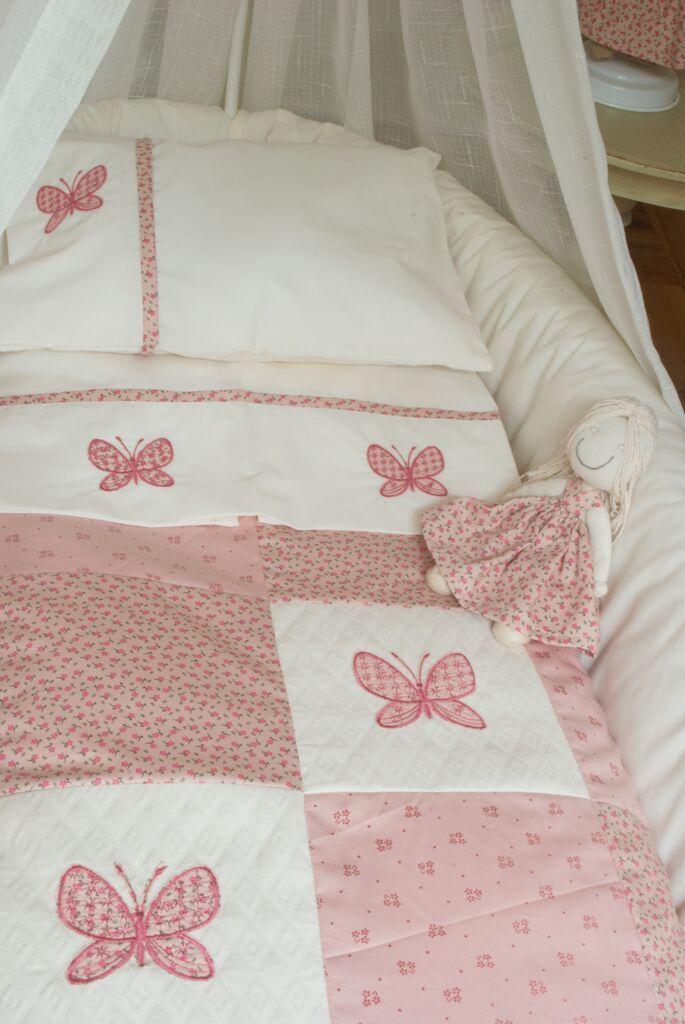 M s de 1000 ideas sobre ropa de cama de ni as en pinterest - Telas para cunas de bebe ...