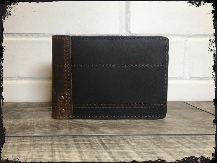 Bi-Fold Pick Wallet - Black Whiskey