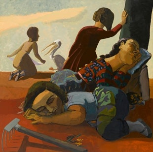 Paula Rego, Sleeping, 1986 © The Artist