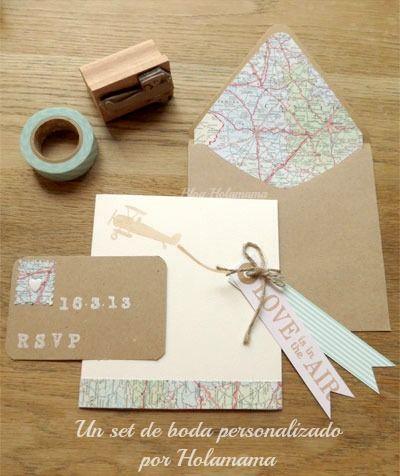 fly with holamama - una invitación para una boda