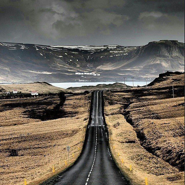 "Planet Earth (@discovery.hd) on Instagram: "". Always on my way. Photograph by © (Zuzana Tretinarova).Picture taken in Iceland . #road…"""