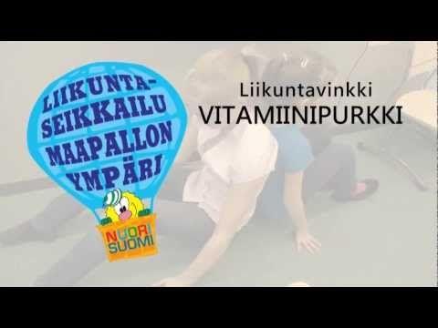 Liikuntaseikkailun liikuntavinkki: Vitamiinipurkki - YouTube