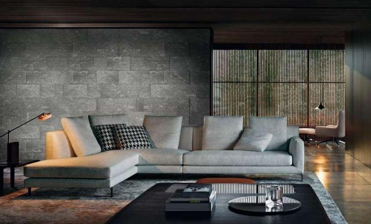 Colore pareti di casa, abbinamenti - Grigio e marrone