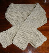 I think this will be my first project to try!  --Basic Beginner's Crochet Scarf