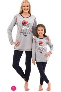 Roly Poly 2556 Kız Çocuk Pijama Takımı