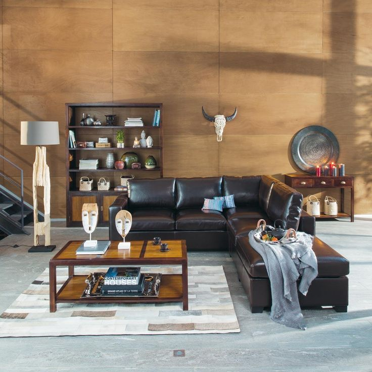 canap lit d 39 angle convertible kennedy maisons du monde. Black Bedroom Furniture Sets. Home Design Ideas