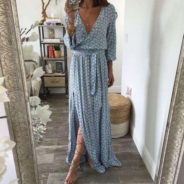 25  best ideas about Long sleeve summer dresses on Pinterest ...