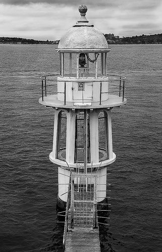 Travelling to Sydney on a budget? We're one of the most popular 4-star hotels in NSW. We're close to Sydney Harbour as well as other popular attractions in Sydney!  Lighthouse at Cremorne Point, NSW, Australia by 2geephotography, via Flickr. Book here - www.cremornepointmanor.com.au