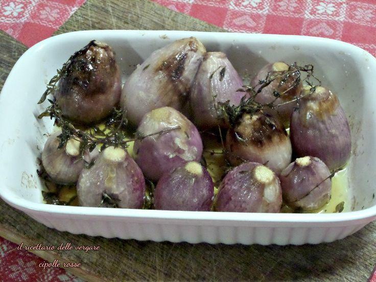 Cipolle rosse al forno