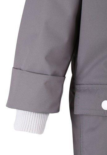 #ReimaSpring2014 #Reima70 Vacalis grey close up. Buy it online here: FI: http://www.reimashop.fi/Kategoriat/Reima/Ulkovaatteet/Haalarit/Haalarit/Haalari-Vacalis/p/520102-9390