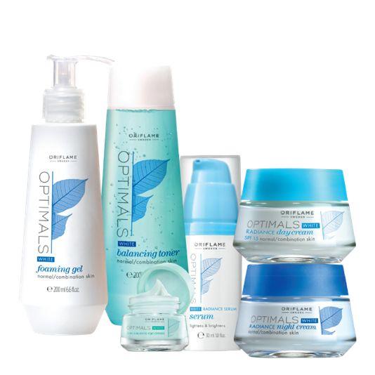 Optimals White Radiance Skin Set