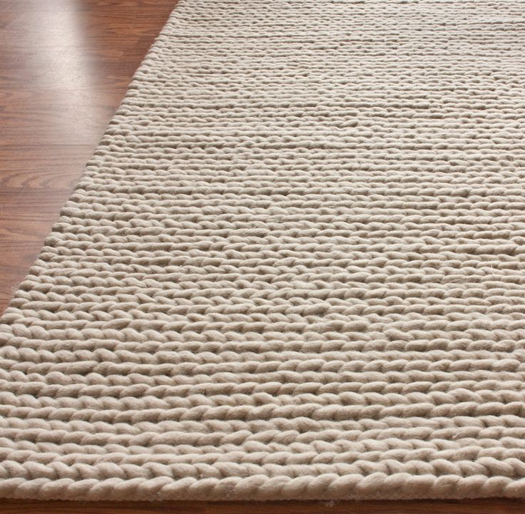 rug woven ruglove whi wool white carina stud products felted