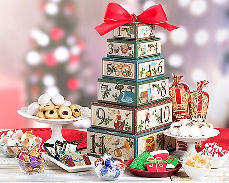 Image result for 12 Days of Christmas wine country gift baskets