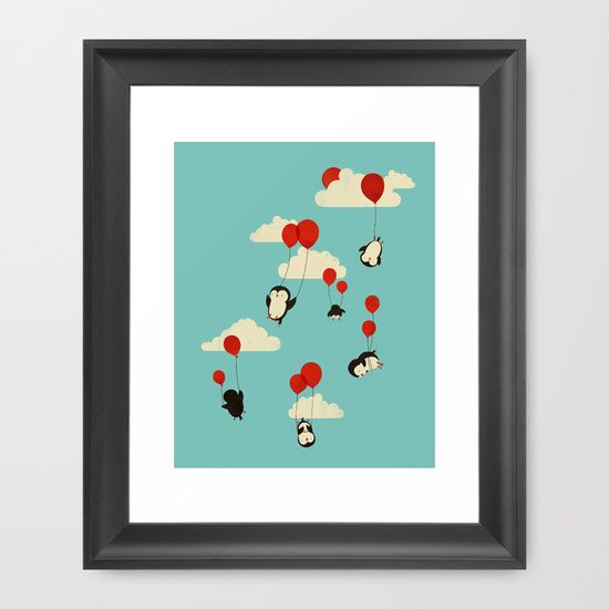 We+Can+Fly!+Framed+Art+Print+by+Jay+Fleck+-+$33.00