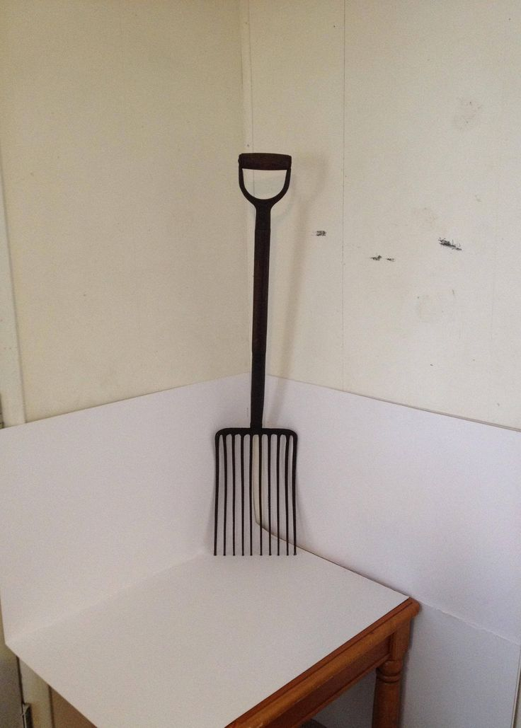 Excited to share the latest addition to my #etsy shop: Vintage Antique NYCS New York Central Railroad Railway Ballast Coal Pitch Fork Shovel Train Tool Man Cave Bar Game Room Lodge Cabin Decor http://etsy.me/2CrLDR6 #art #trainballastfork #trainballastshovel #antiquera