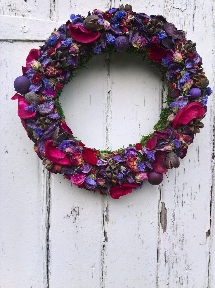 145 best bella poppy flower design dried flowers images on scented dried flower wreath wedding wreath wedding decoration halloween wreath dried flowers christmas wreath mightylinksfo Gallery