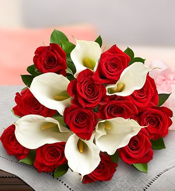 Rich, vibrant bouquetsBridal Bouquets, Stunning Red, Red Flower, Wedding Bouquets, Calla Lilies, Purple Rose, Red Roses, Pink Rose, Red Wedding