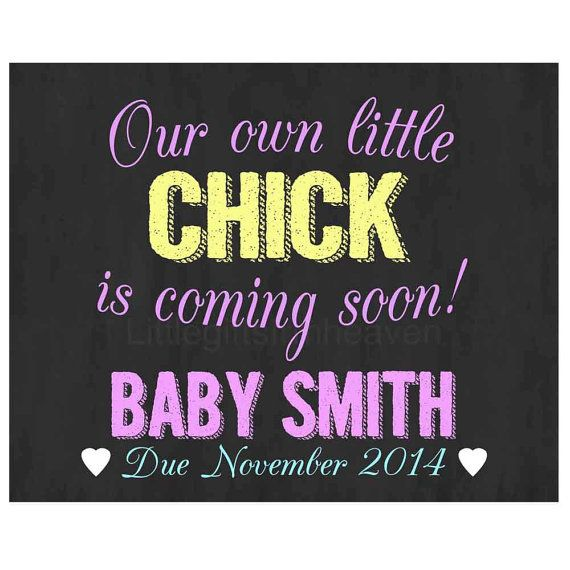 Chalkboard Pregnancy Announcement Easter by Littlegiftsfrmheaven, $14.00  #chalkboardpregnancy #pregnancyannouncement #Easterpregnant #Easterannouncement