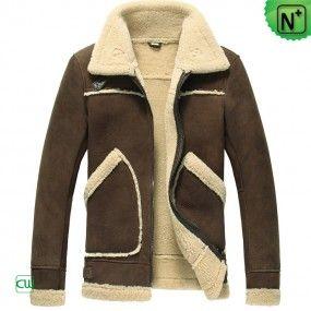 Mens Sheepskin Jacket CW848115 - m.cwmalls.com