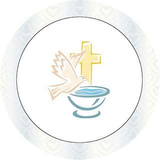 Imprimibles para bautismo 4.