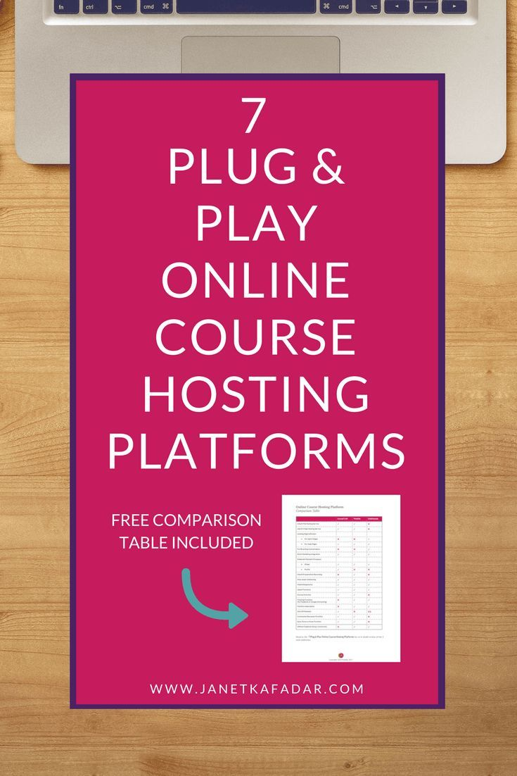 Can't decide which online course platform to use to host your online course? I've done all the hard work for you and found 7 Easy Plug & Play Online Course Hosting Platforms to get you started EVEN IF your a technophobe.
