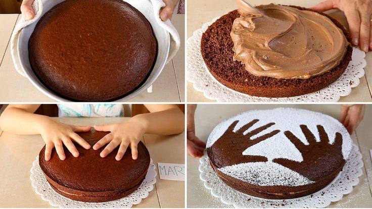 TORTA di COMPLEANNO al CIOCCOLATO per BAMBINI - Birthday Nutella Chocola...
