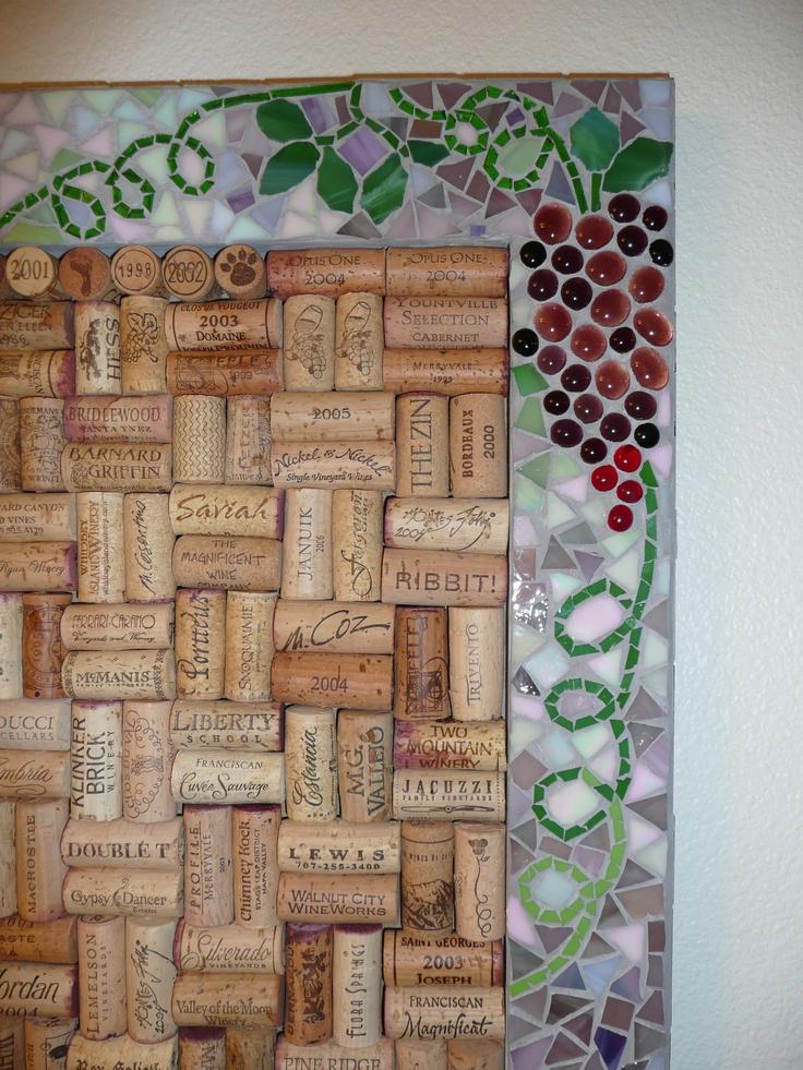 Mosaic and Cork Board