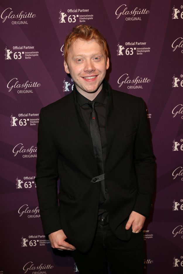"Rupert Grint's magical mane is making me see the light again. | For Everyone Who Has A ""Thing"" For Redhead Men"