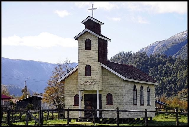 Church of Santa Lucia, Chile