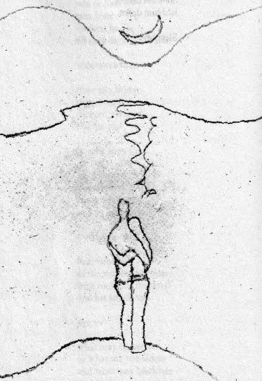 Sketch by E. E. Cummings