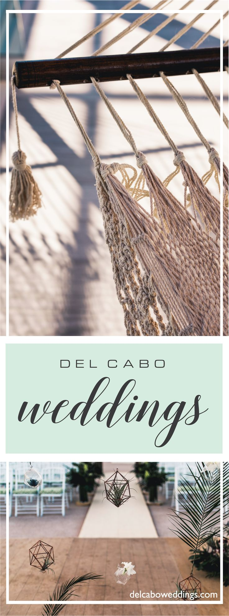 Balanced details and decoration for your organic wedding. At Del Cabo Weddings we look at the smallest details to make your dream wedding come true! Click on the image and visit our website!