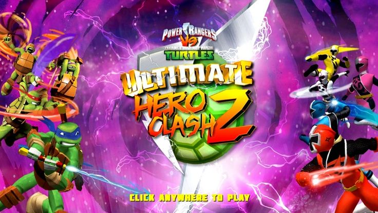 In Teenage Mutant Ninja Turtles Vs Power Rangers Ultimate Hero Clash 2, everyone's favorite heroes are back in action in an all-out brawl! Test your fighting skills against the toughest martial artists around in the sequel to this online fighting game. In this fun online action game, players will compete in teams of two to take on other teams and master their own skills. The two groups of heroes which we know we all love are going to fight one another.