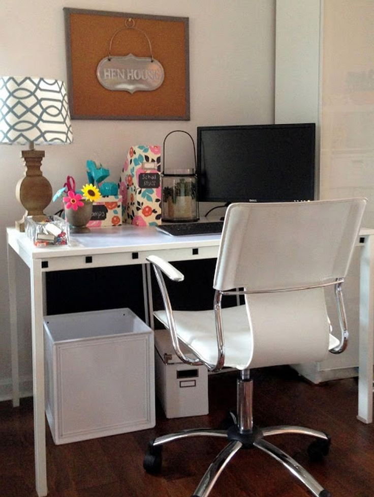 Home Office Small Space Lovely White Modern Chair For Computer With Planning A In How To Design