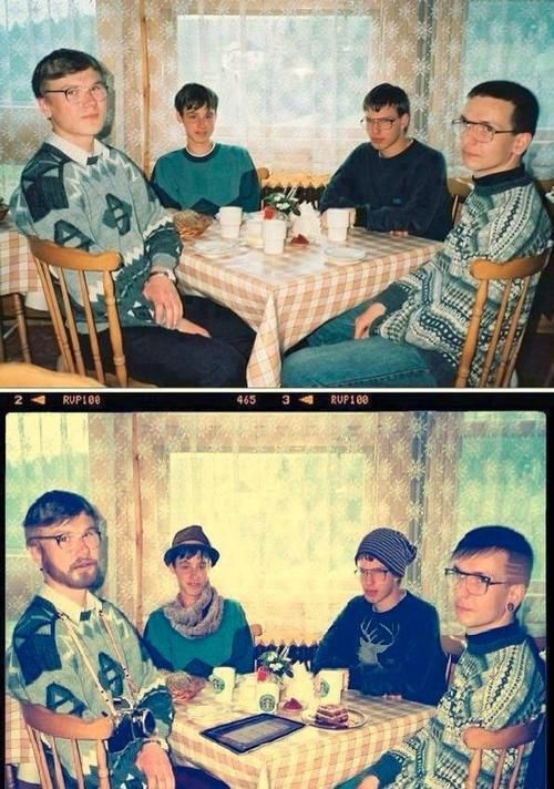 Real difference between Nerds and Hipsters.