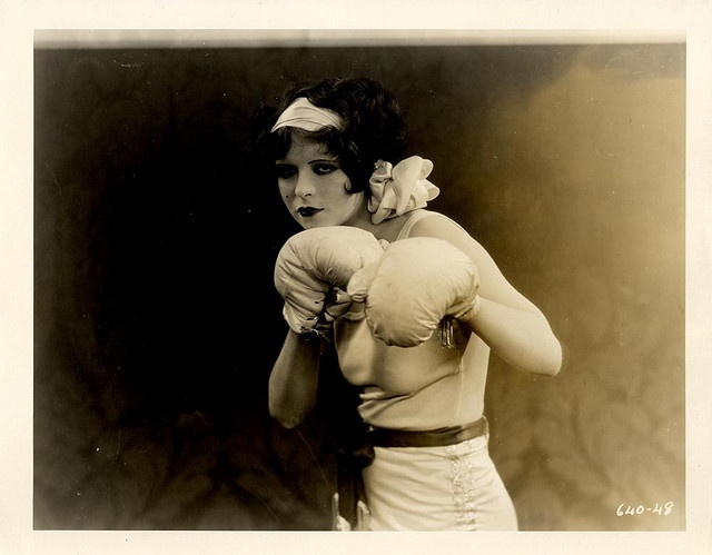 Vintage Boxer...from the silent movie Rough House Rosie starring Clara Bow