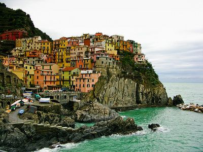 Already been to Monterosso al Mare, but I think I need to see the other four... :) (Italy's Cinque Terre)