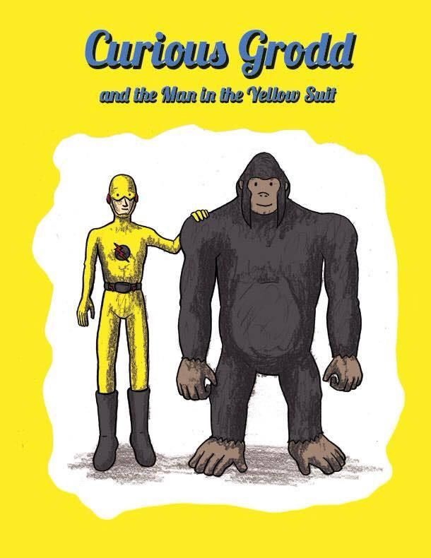 Curious Grodd and the Man in the Yellow Suit by Jackson Ferrell
