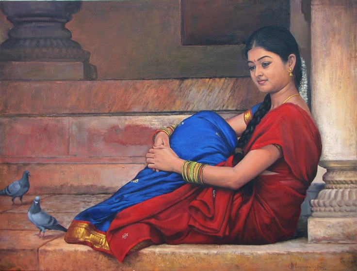 Oil Painting -S Elayaraja Art Gallery