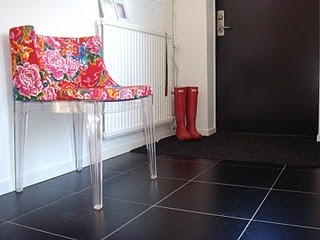 Hallway -chair Madmoiselle from Kartell.