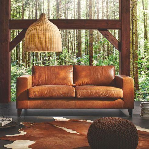 Die besten 25+ Sofa braun Ideen auf Pinterest braunes Sofa - braun wohnzimmer ideen