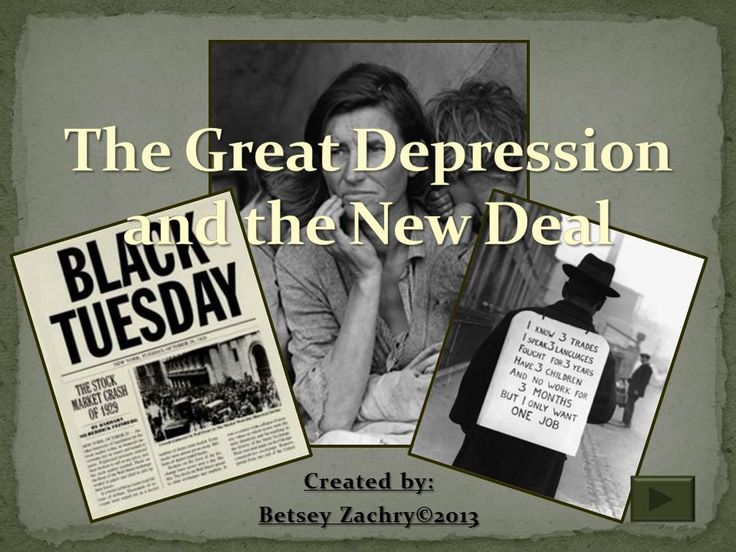 new deal and great depression This database holds thousands of political cartoons from the roosevelt  administrations and the new deal search by cartoonist, publication, or image  content.